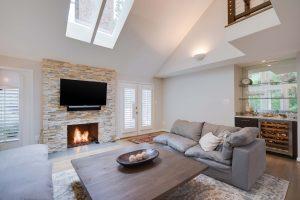 Living Room Renovation in Northern Virginia