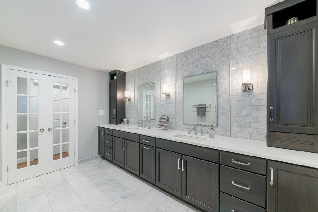 His and Hers Sinks Northern Virginia