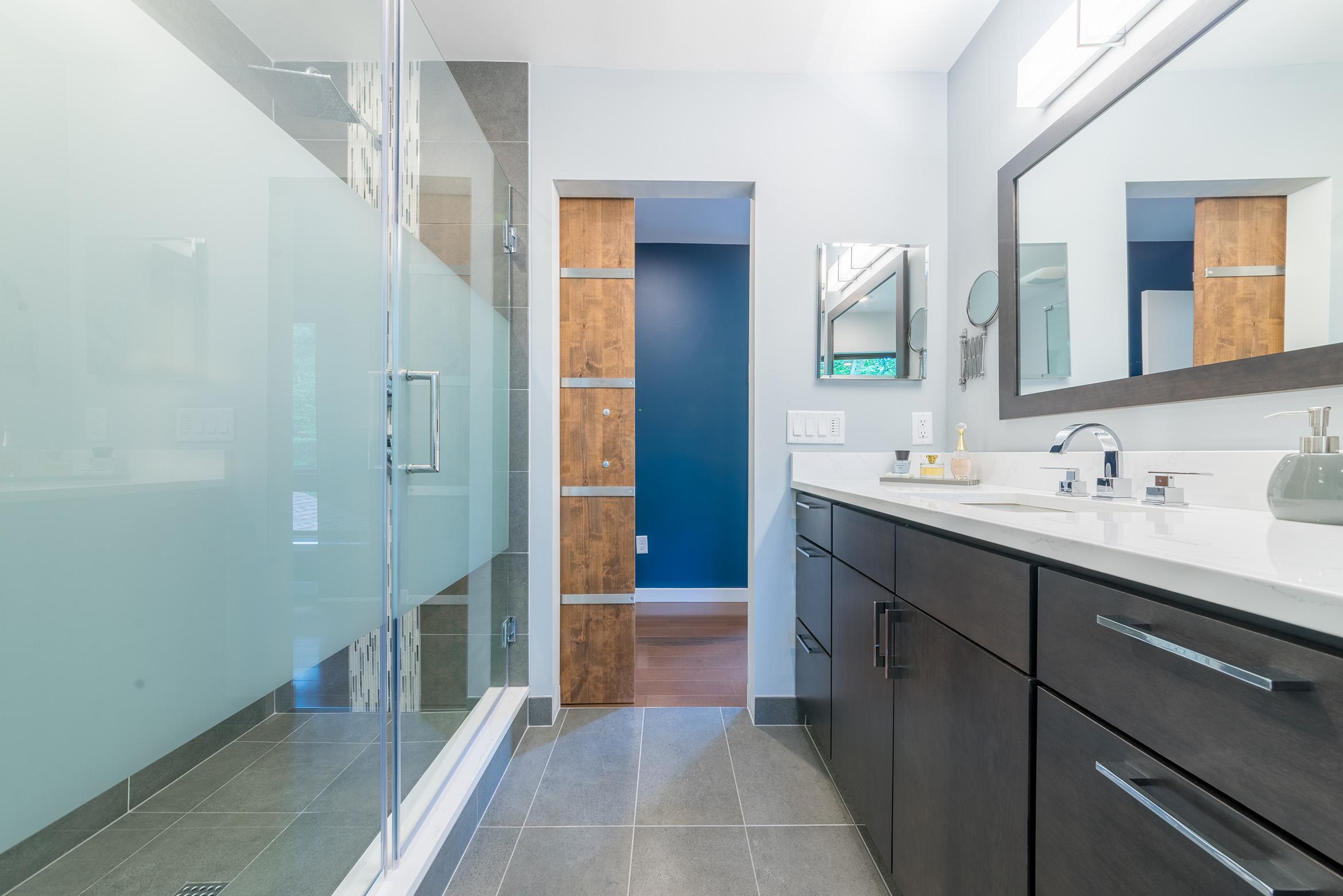 Updated Bathroom in Northern Virginia