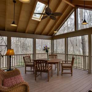 Northern Virginia Covered Patio Ideas