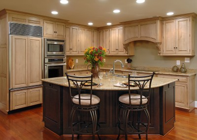 High end kitchen remodeling project 1