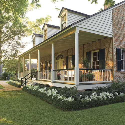 Front Porch Swings Farmhouse Exterior: Daniels Design & Remodeling (DDR
