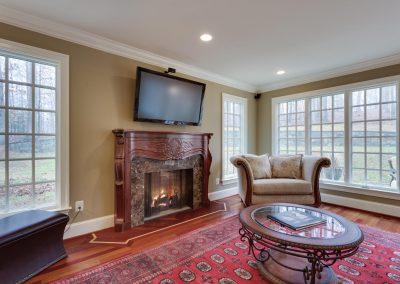 Northern Virginia Living Room Remodel