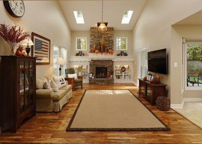 Northern Virginia Luxury Living Room Remodel