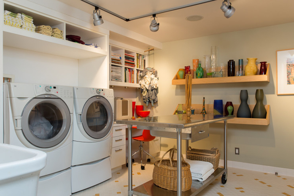 Multi-Purpose Laundry Rooms