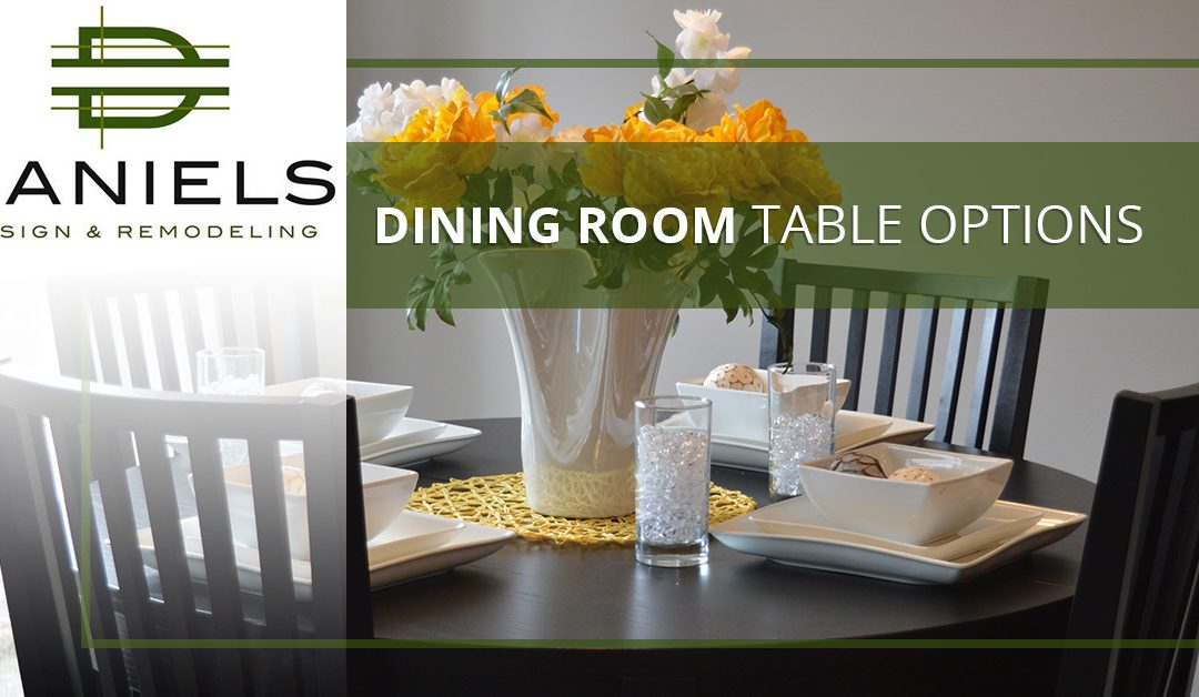 Dining Room Table Options