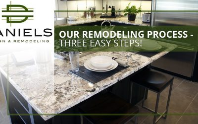 Our Remodeling Process – Three Easy Steps!