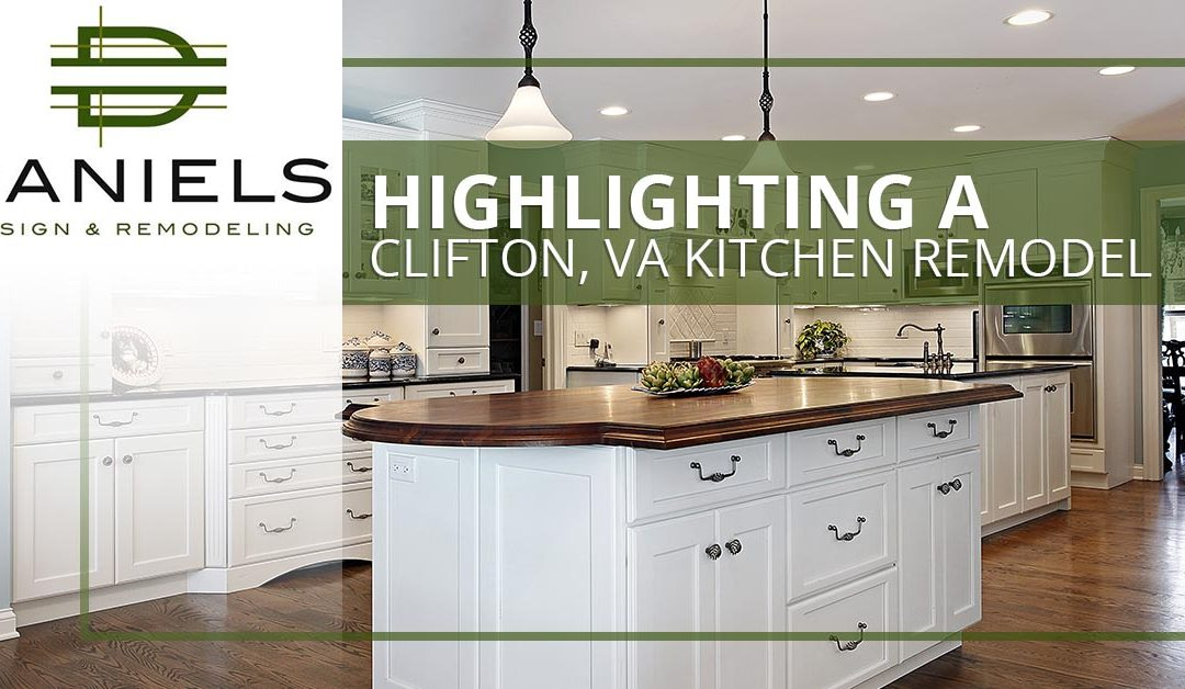 Highlighting A Clifton, VA Kitchen Remodel