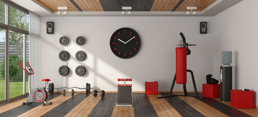 Remodel Your Living Space into a Home Gym